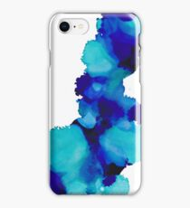 Calm Pool Alcohol Ink Art iPhone Case/Skin