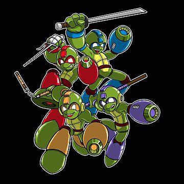 Mega Turtles by sarahcave