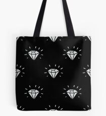 diamond seamless doodle pattern Tote Bag