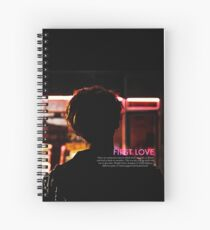 bts wings - suga first love Spiral Notebook