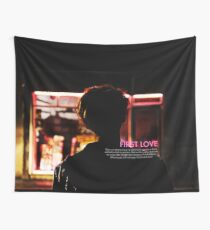 bts wings - suga first love Wall Tapestry