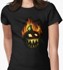 jacks fire tee Womens Fitted T-Shirt