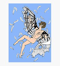 Icarus Descent (Color) Photographic Print