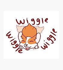 wiggle,wiggle,wiggle~!  Photographic Print
