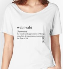 wabi-sabi (Japanese) statement tees & accessories Women's Relaxed Fit T-Shirt