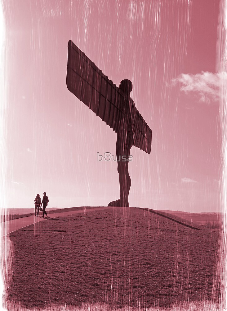 Angel of the North by b8wsa