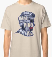 Twelfth Doctor- Kindness Classic T-Shirt