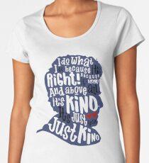 Twelfth Doctor- Kindness Women's Premium T-Shirt