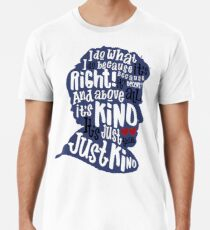 Twelfth Doctor- Kindness Men's Premium T-Shirt