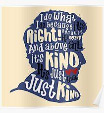Twelfth Doctor- Kindness Poster