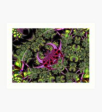 Fractal Insect Art Print