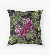 Fractal Insect Throw Pillow