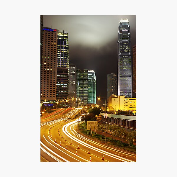 Conaught Road Central Photographic Print