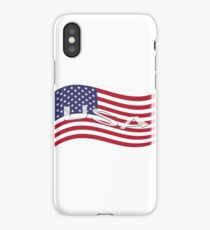 USA, national flag, patriot symbol iPhone Case/Skin