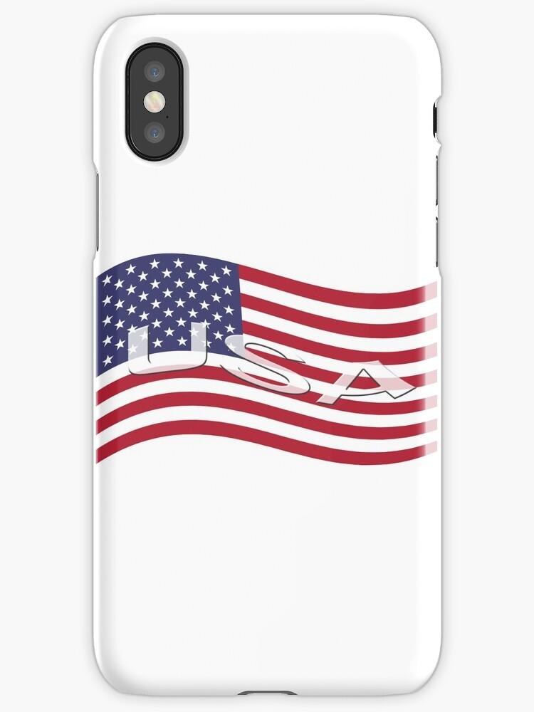 USA, national flag, patriot symbol by Mike Suszycki