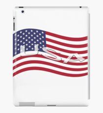 USA, national flag, patriot symbol iPad Case/Skin