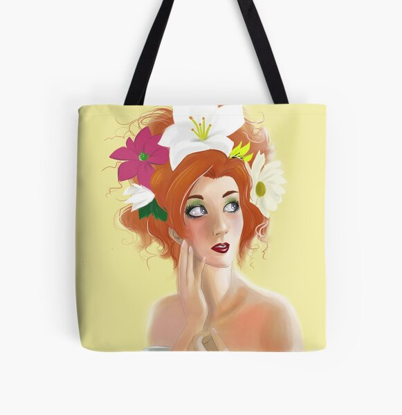 Summer All Over Print Tote Bag