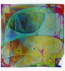 Abstract composition 134 Poster
