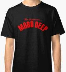 THE INFAMOUS MOBB DEEP - BLOOD RED Classic T-Shirt