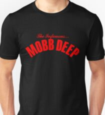 THE INFAMOUS MOBB DEEP - BLOOD RED Unisex T-Shirt