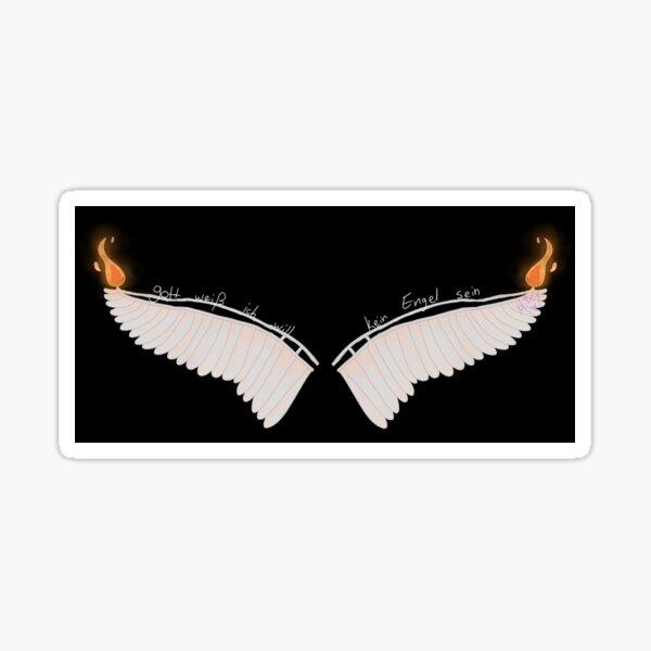 engel. Sticker