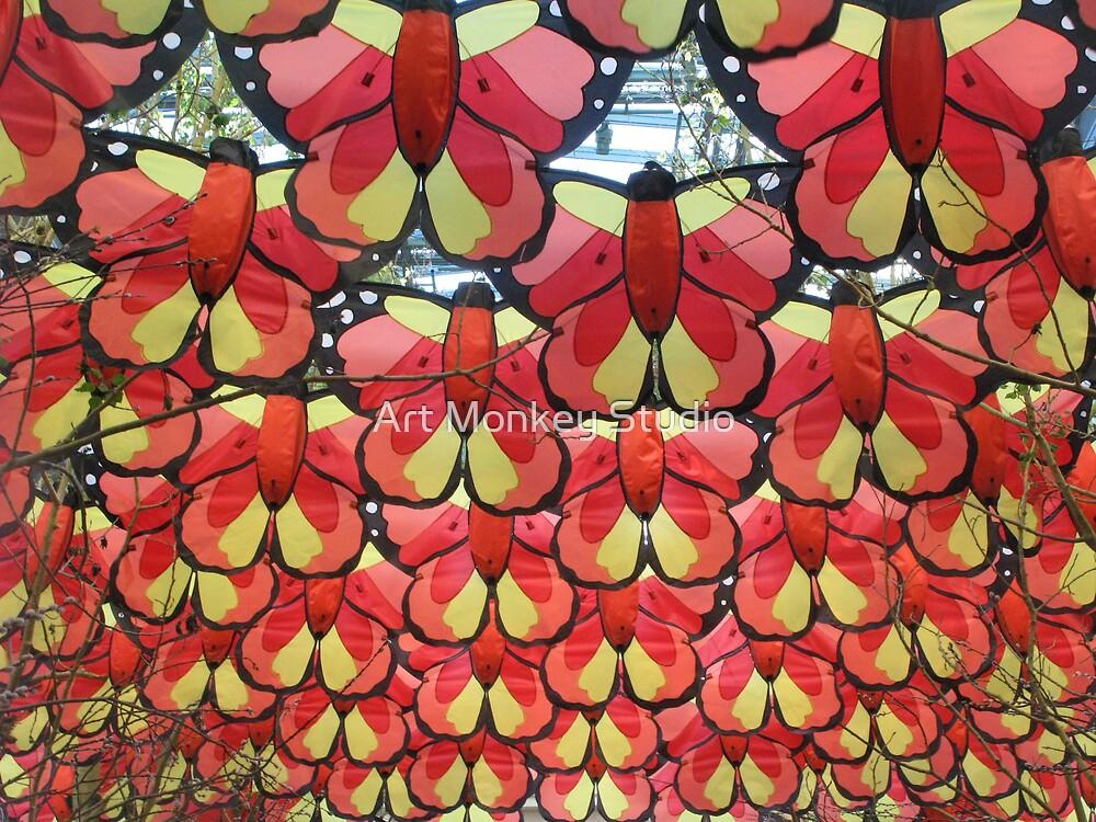 Paper Butterflys by Dan Perez