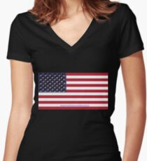 United States of....Cats? Women's Fitted V-Neck T-Shirt