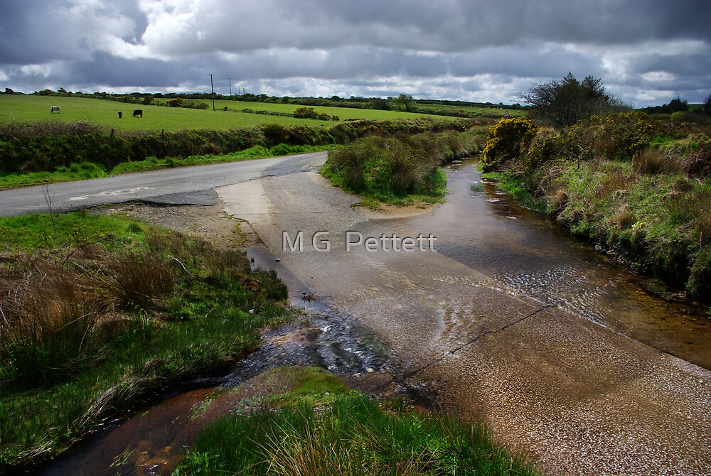 A Rural Ford in North Cornwall by M G  Pettett