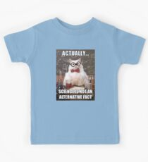 Science is not an Alternative Fact Kids Clothes