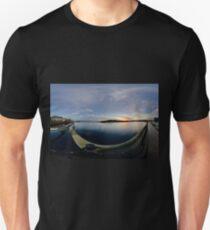 Dawn Calm at Foyle Marina, Derry, N.Ireland T-Shirt