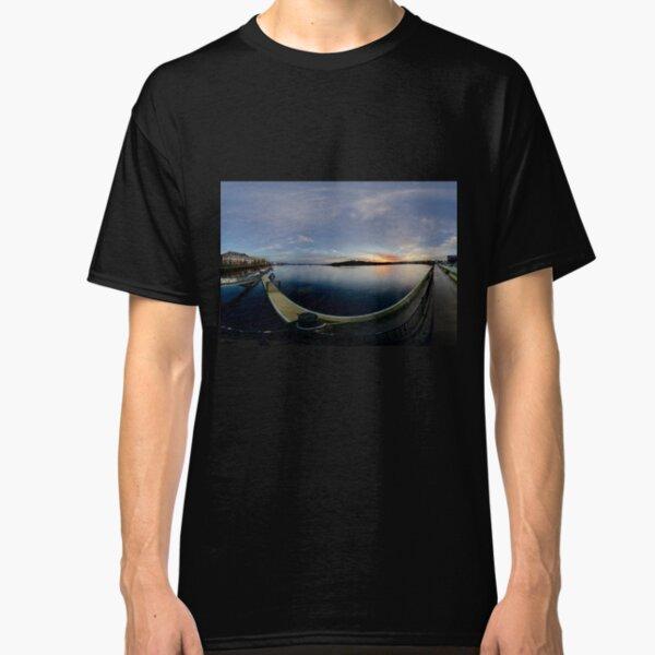 Dawn Calm at Foyle Marina, Derry, N.Ireland Classic T-Shirt