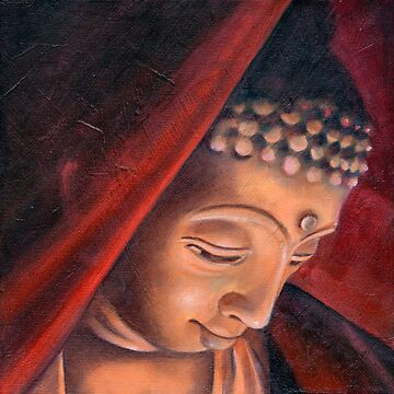 Veiled Buddha 1 by HelenAldous