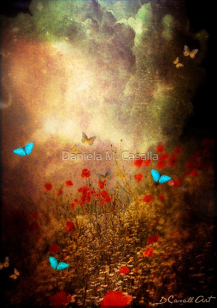 Spring is heading North... by Daniela M. Casalla