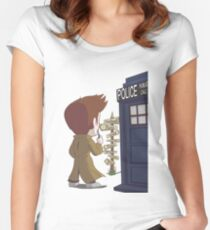 A Doctor's Decision Women's Fitted Scoop T-Shirt