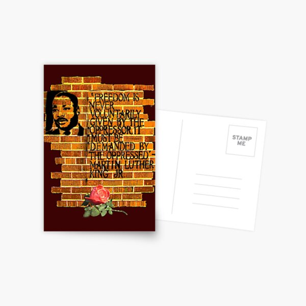 Martin Luther King, Jr. Day  Postcard