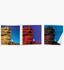 Many moods of Indian Head, Great Ocean Road, Australia Poster