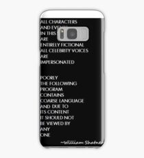 South Park as done by Shatner Samsung Galaxy Case/Skin