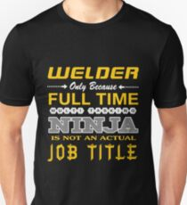 WELDER BEST DESIGN 2017 Unisex T-Shirt