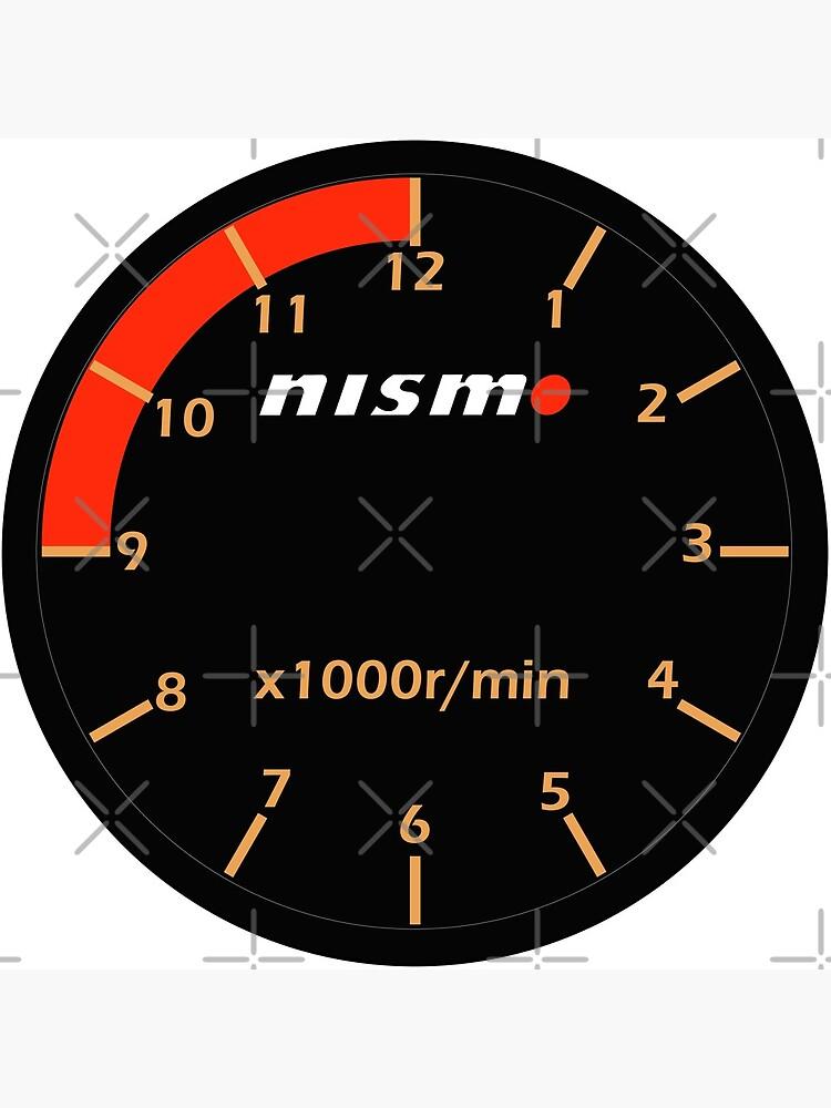 Nismo Guage Clock by merlz
