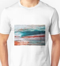 Colorful wood background. Art concept. T-Shirt