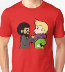Where's the fur cloak?? T-Shirt