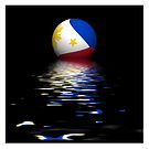 Philippines Flag rising/setting. by stuwdamdorp