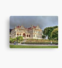 Library, Wellington, New Zealand Canvas Print