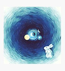 Down The Rabbit Hole Photographic Print