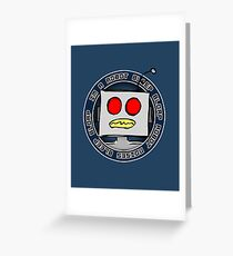 Robot Noises Greeting Card