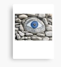 Greek Eye Metal Print