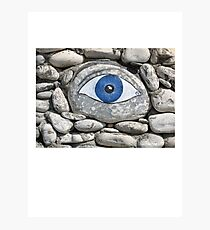Greek Eye Photographic Print