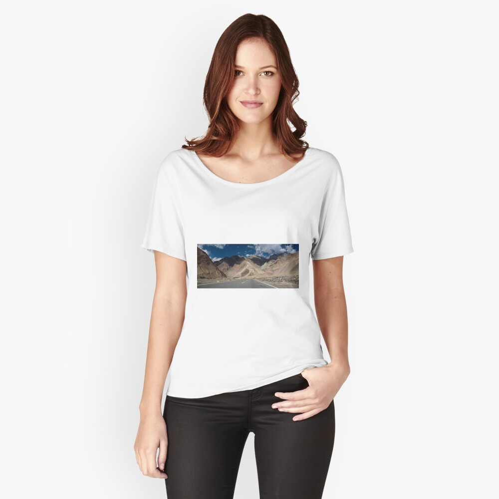 Karakoram Highway Women's Relaxed Fit T-Shirt Front