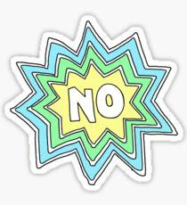 No Sticker