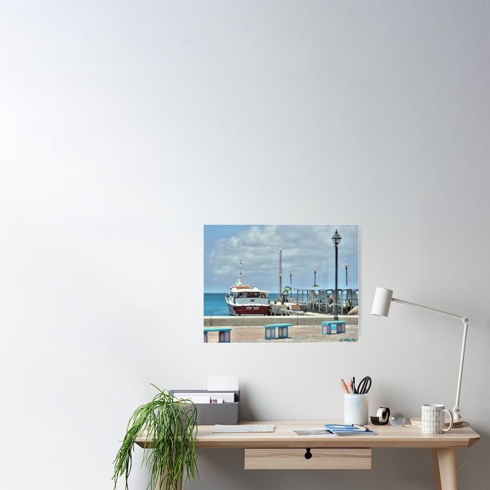 Charlestown Port Poster